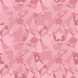 Patchwork seamless abstract modern pattern stars background. Patchwork seamless abstract modern pattern stars pink background Stock Image