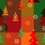 Patchwork seamless christmas pattern geometric elements backgrou Stock Images