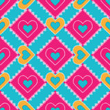 Patchwork seamless pattern Royalty Free Stock Photos