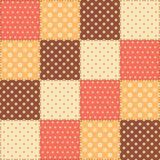 Patchwork seamless pattern Royalty Free Stock Photography