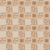 Patchwork seamless pattern floral ornament background Royalty Free Stock Photo