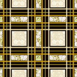 Patchwork seamless pattern ornament background Stock Photo