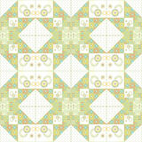 Patchwork seamless pattern ornamental Stock Image