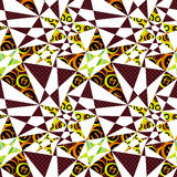 Patchwork seamless pattern texture background Royalty Free Stock Photography