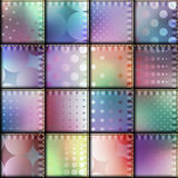 Patchwork of silk. Seamless background pattern. Patchwork with satin effect Stock Image