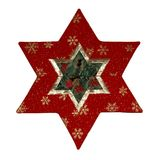 Patchwork Star royalty free stock photography