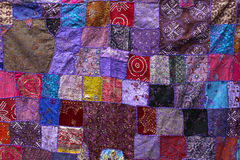 Patchwork textile Royalty Free Stock Images