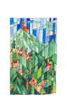 Patchwork Village Royalty Free Stock Image