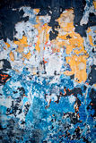 Patchwork wall background Royalty Free Stock Photos