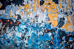 Patchwork wall background Royalty Free Stock Photography