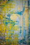 Patchwork wall background Royalty Free Stock Images