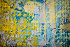 Patchwork wall background Stock Photography