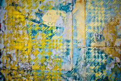 Patchwork wall background Stock Photos