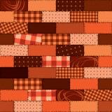 patchworkmodell Royaltyfri Bild