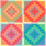 PatchworkMulticolorPattern Royalty Free Stock Photos