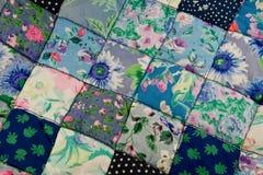 patchworktäcke Royaltyfri Bild