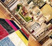 Patchworku dywan, oryginalność Obraz Royalty Free