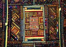 Patchworku indiański dywan fotografia stock