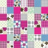 patchworku wektor deseniowy bezszwowy Fotografia Royalty Free