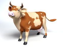Patchy cow Stock Photography