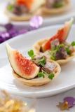 pate смоквы закуски Стоковая Фотография RF