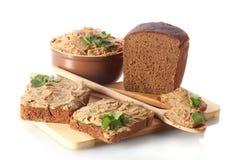 pate хлеба свежий Стоковое Фото