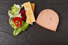 Pate Apetiser Stock Photo