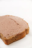 Pate on bread Royalty Free Stock Photos