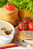 Pate for a breakfast. Royalty Free Stock Photography