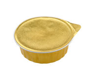 Pate in a closed tin can Royalty Free Stock Photo