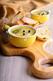 Pate covered with fat Royalty Free Stock Images