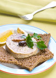 Pate hashed herring Stock Photography