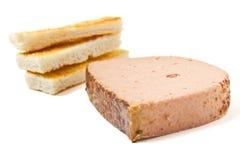 Pate n Toast Stock Image