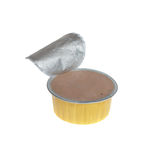 Pate in open can Royalty Free Stock Photo