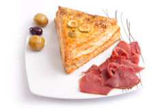 Pate with Pastrami Royalty Free Stock Image