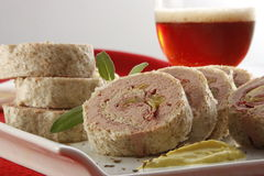 Pate rolls Stock Photos