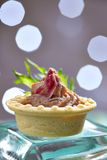 Pate tartlets Stock Photo