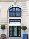 Patek Philippe shoppar Royaltyfria Bilder