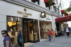 Patek Philippe Watch. Swiss made Patek Philippe Watches is one of the most expensive watches in the world Stock Image