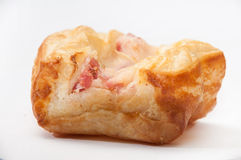Patella with ham and cheese Stock Image