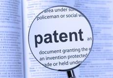patent Royaltyfri Bild