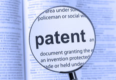 patent Στοκ εικόνα με δικαίωμα ελεύθερης χρήσης