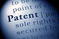 patent Zdjęcia Stock