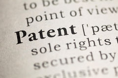 Patent Royalty Free Stock Photography