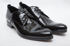 Patent-leather shoes Royalty Free Stock Photography