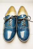 Patent leather shoes Royalty Free Stock Images