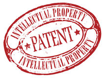 Patent stamp Royalty Free Stock Photo