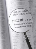 patente Imagem de Stock