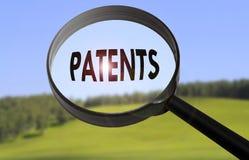 patente lizenzfreie stockfotos