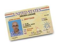 Patente di guida Immagini Stock